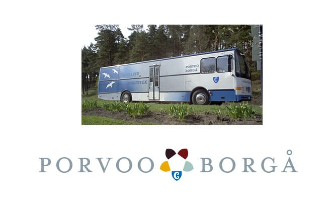 Biblioteksbussen - Kirjastoauto
